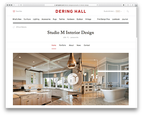 Dering Hall Is An Online Marketplace For The Finest Interior Designers Architects Artisans And Design Galleries To Showcase Their Work Sell New