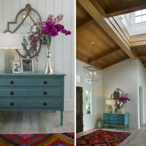 Coastal Transitional Foyer