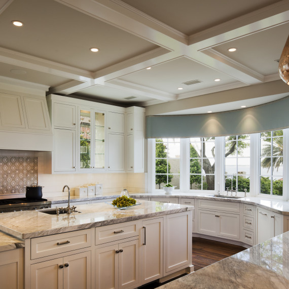 Coastal Transitional Kitchen