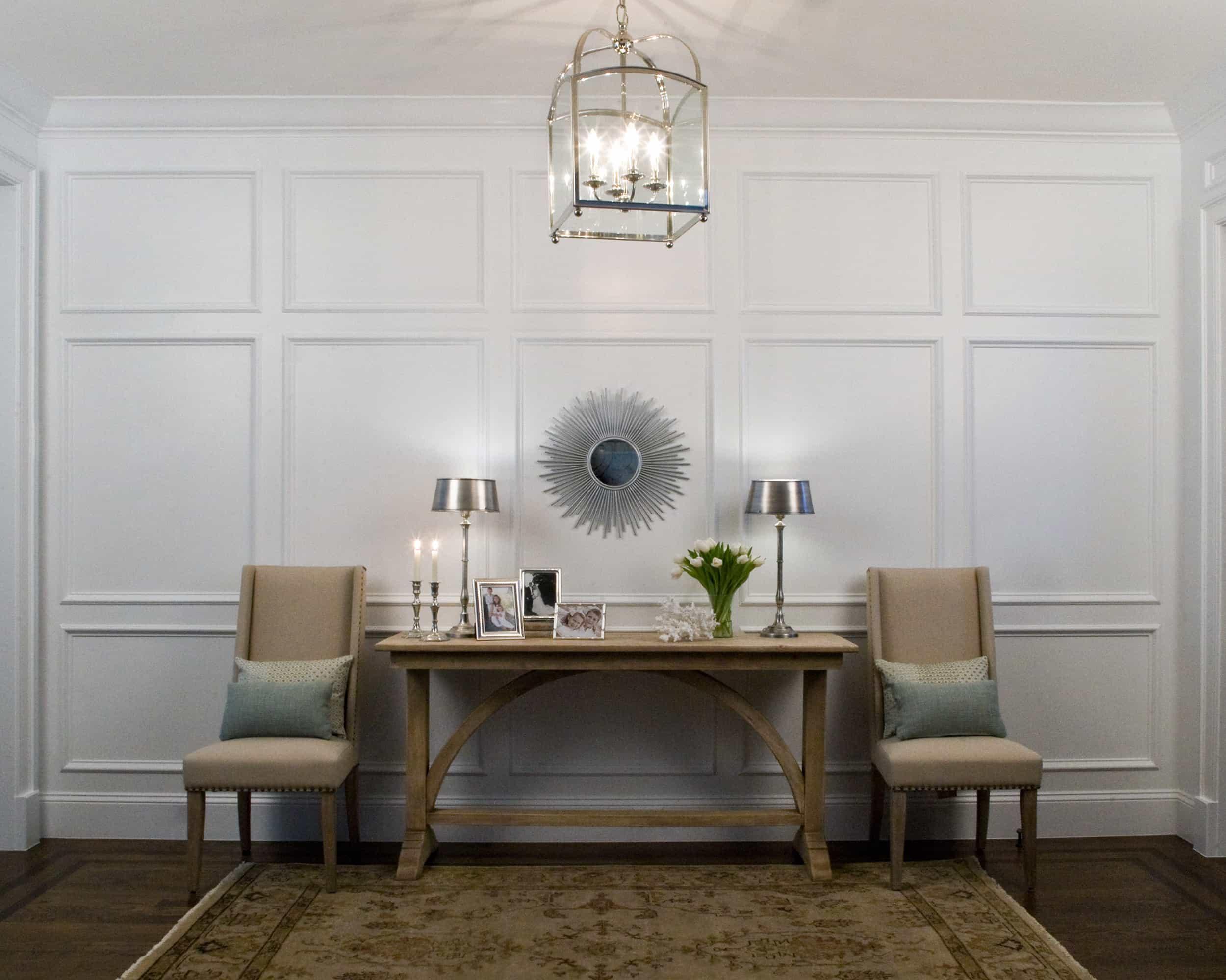 Foyer Interior Design : Studio m interior design is a full service