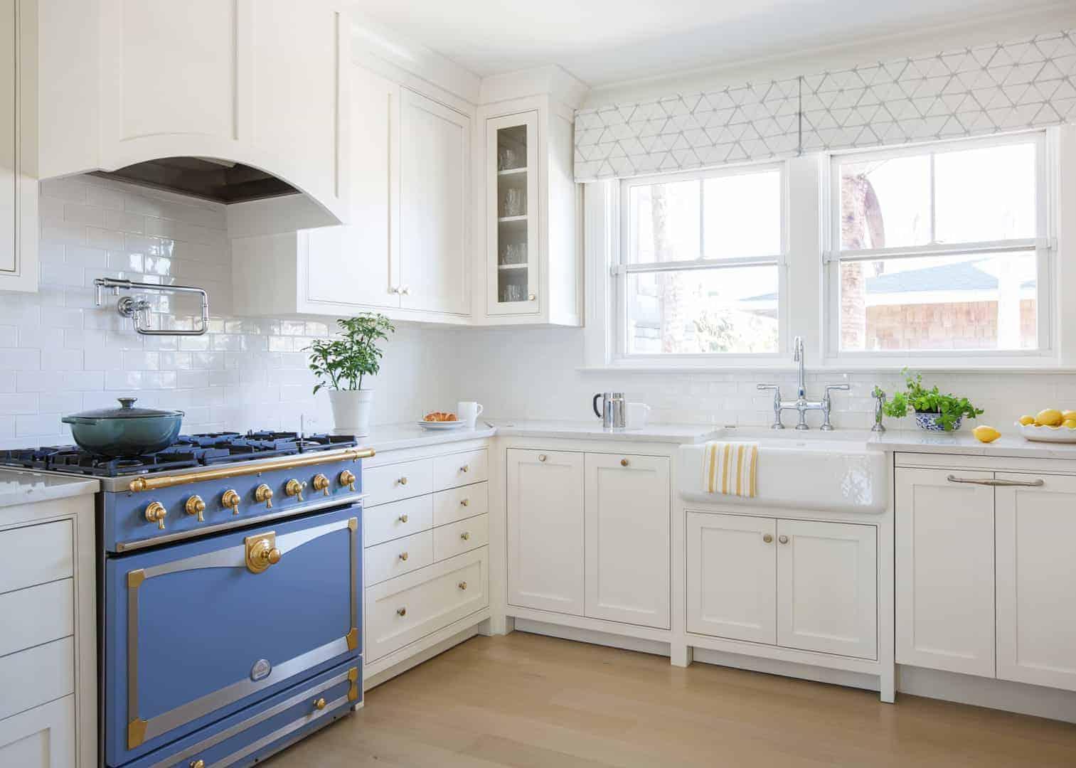 Coastal Contemporary Residential Interior Design Kitchen