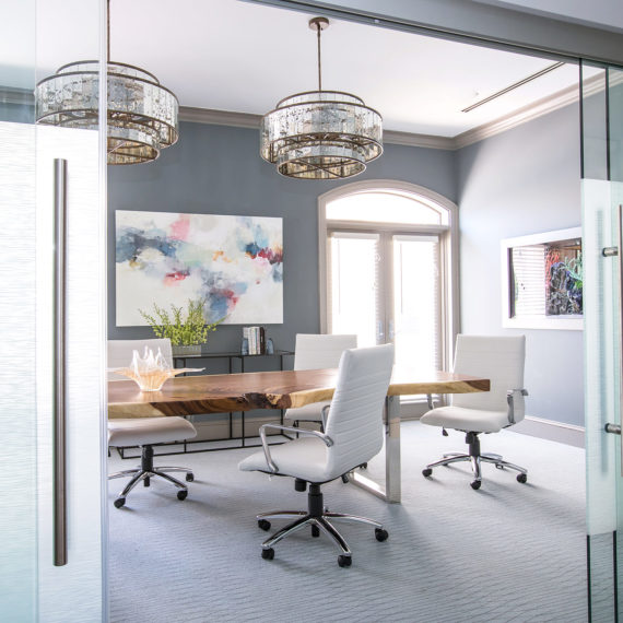 Mid-Century Contemporary Office Design