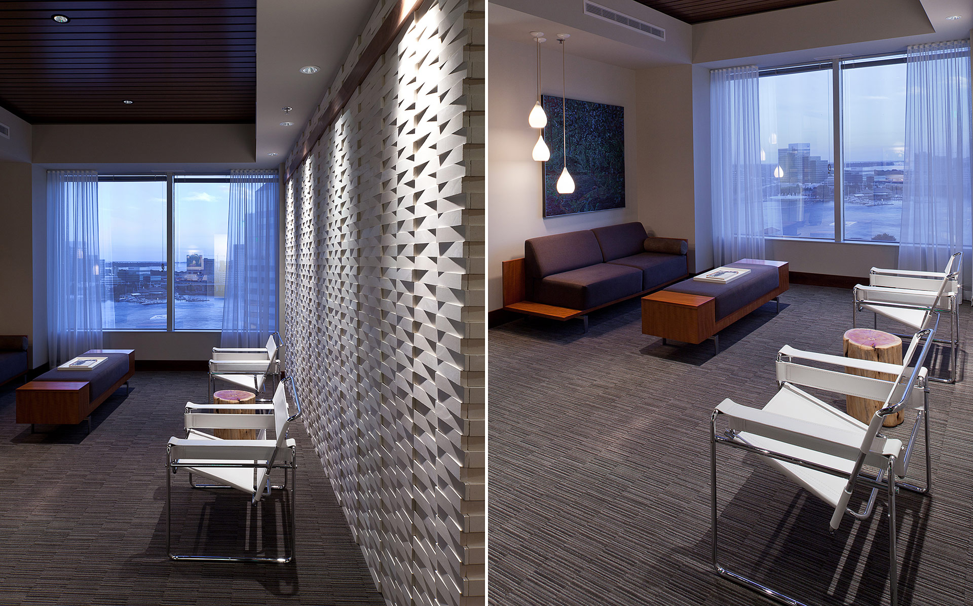Studio m interior design modern law office Interior designers jacksonville florida